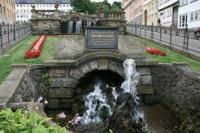 Brunnen in Gotha am Schloss
