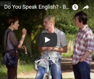 Do you speak english - Big Train BBC